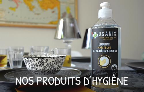 Produits hygiène pour la maison Gamme Osanis Salveco