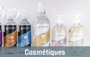 Gamme OSANIS pour des cosmétiques 100% végétale et biodégradable