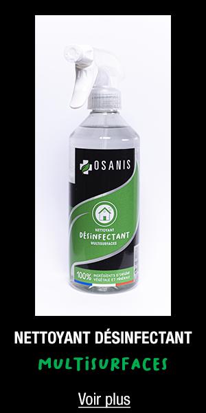 Nettoyant désinfectant multisurfaces OSANIS 500ml