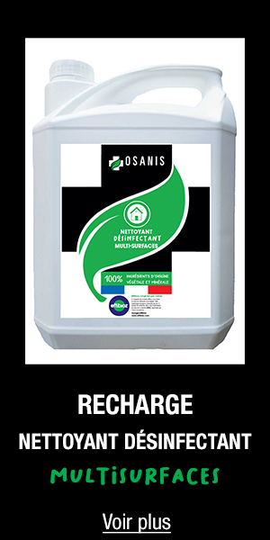 Nettoyant désinfectant multisurfaces OSANIS Recharge 5L
