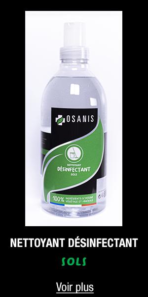 Nettoyant désinfectant sols OSANIS 1l